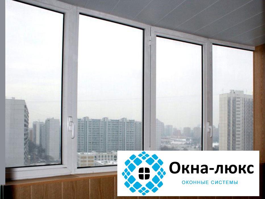 Холодное остекление балконов и лоджий пластиковыми окнами pr.